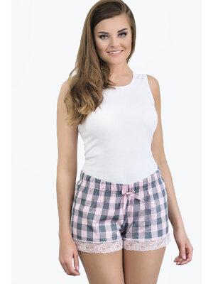 Pantaloni Delicate 3123 - Roz