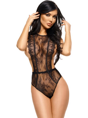 Body Emiliana teddy - Negru