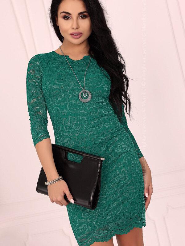 Rochie Merribel 10391D Green