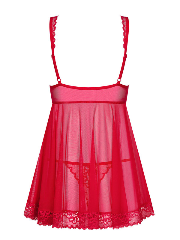 Chemise Obsessive Rougebelle babydoll & thong