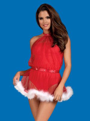 Costum Santastic - Rosu