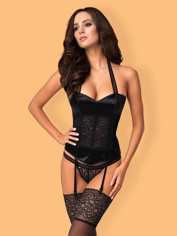 Corset Ailay Negru - Imbracaminte sexy