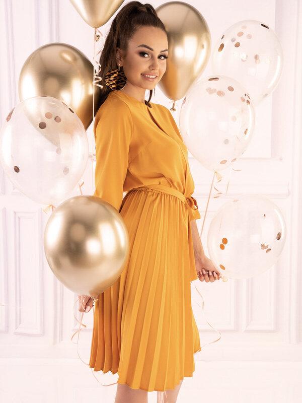 Rochie Merribel Messina Yellow D40