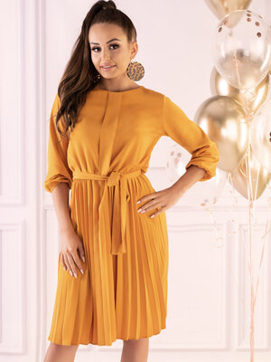 Rochie Messina Yellow D40
