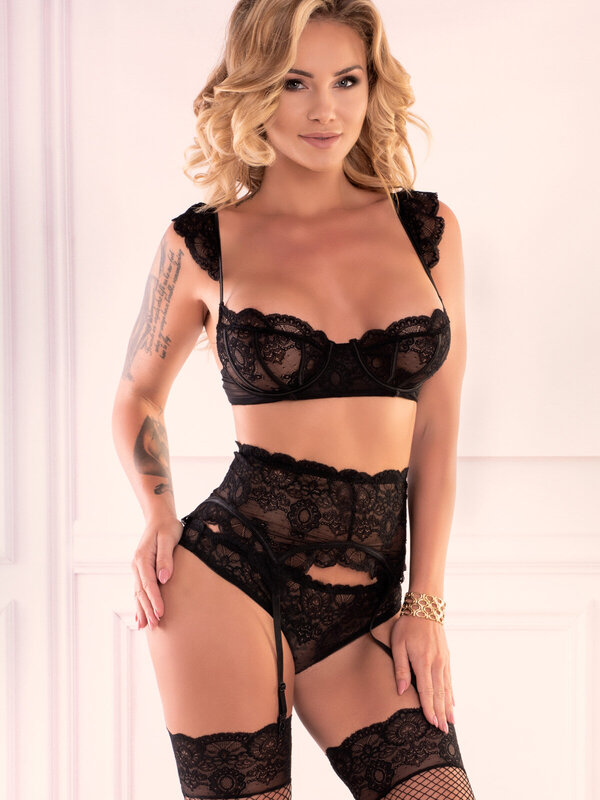 Set sexy LivCo Irissan Black