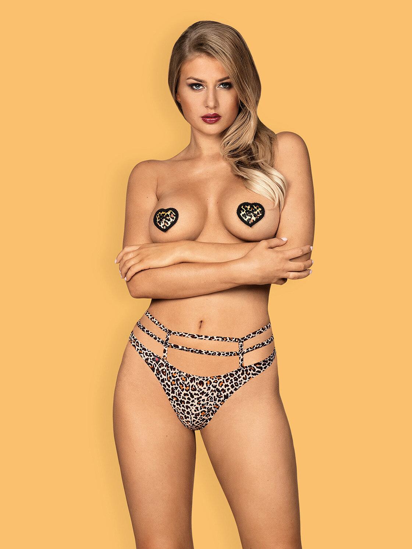 Obsessive Selvy nipple covers Bej