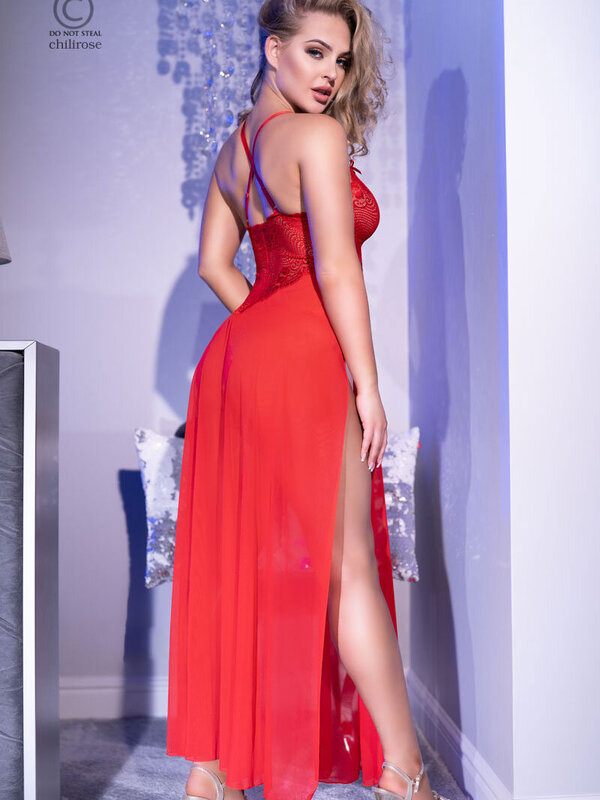 Chemise Chilirose CR-4371 RED