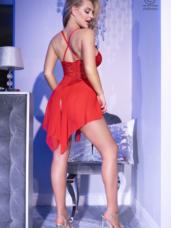Chemise Chilirose CR-4370 RED