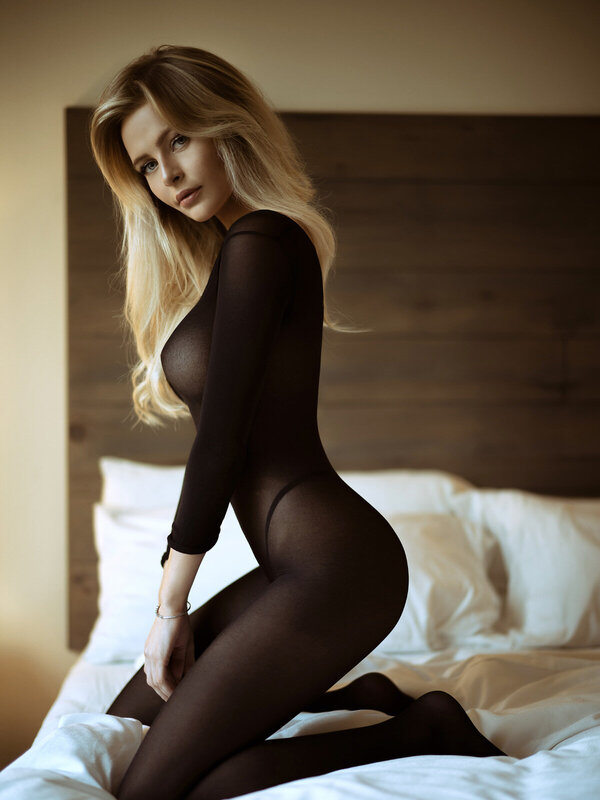 Catsuit Leg Avenue 8297 Long Sleeves Bodystocking