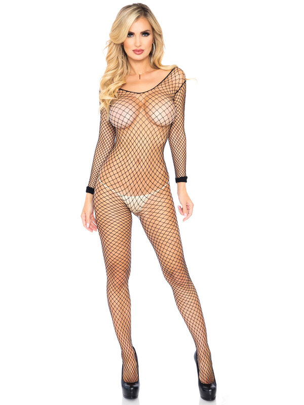 Catsuit Leg Avenue 8380 Long Sleeves Bodystocking