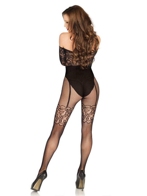Catsuit Leg Avenue 89200 Off the shoulder bodystocking