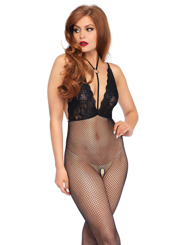 Catsuit Leg Avenue 89216 Crotchless bodystocking