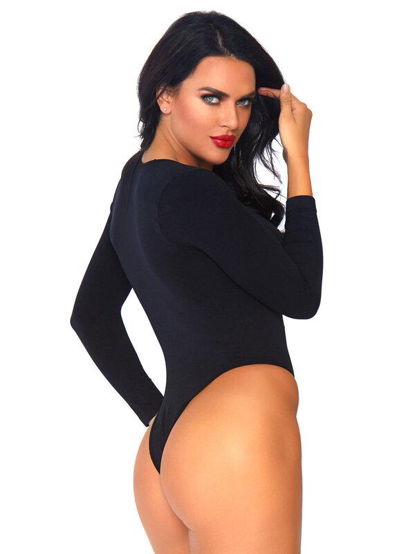 Body Leg Avenue 81589 Long sleeved bodysuit