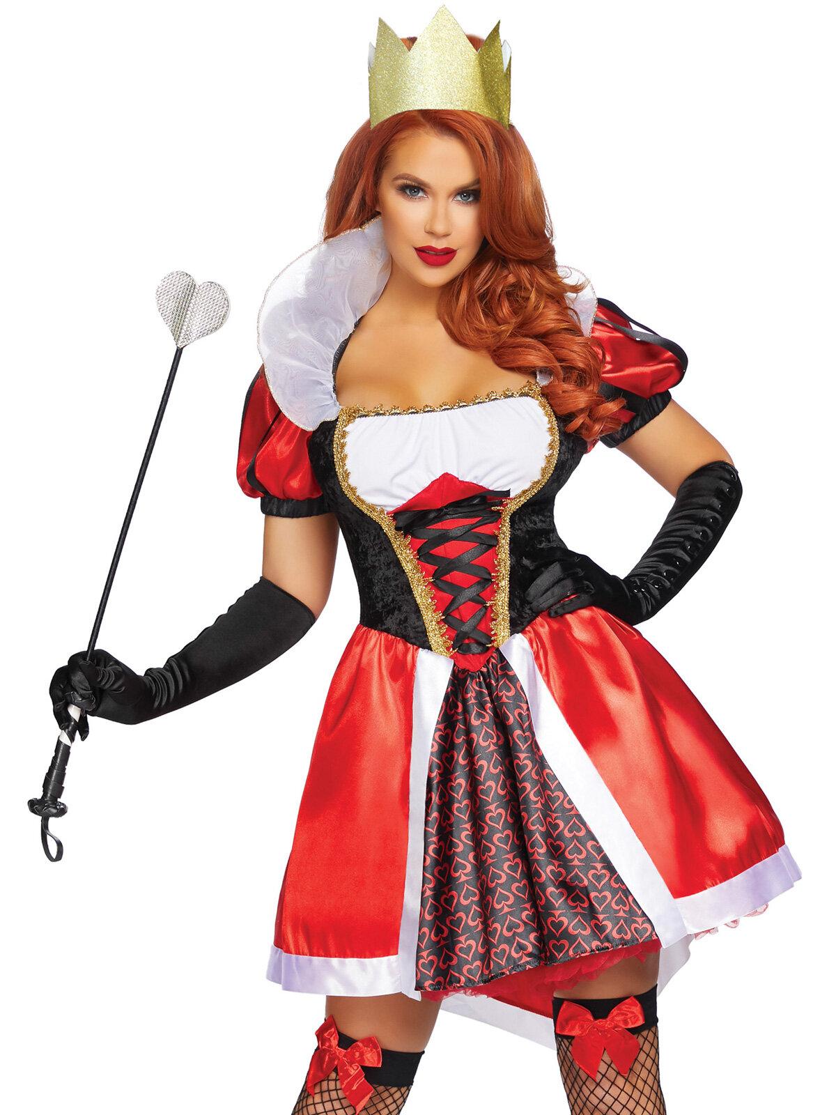 Costum 86839 Wonderland Queen Rosu LA86839
