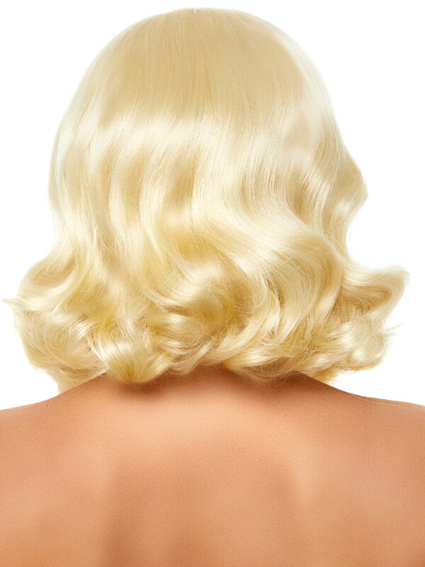 Peruca Leg Avenue A2860 Retro bang curly bob wig