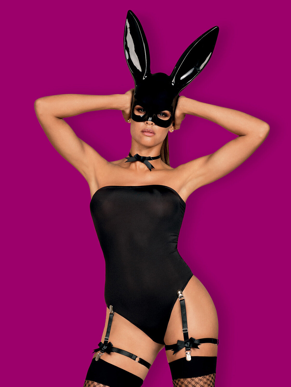 Obsessive Costum Bunny costume Negru