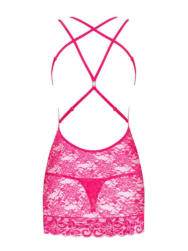 Chemise Obsessive 860- Pink