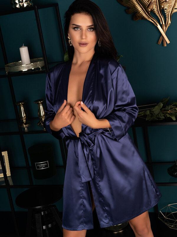 Halat LivCo Edelina navy blue