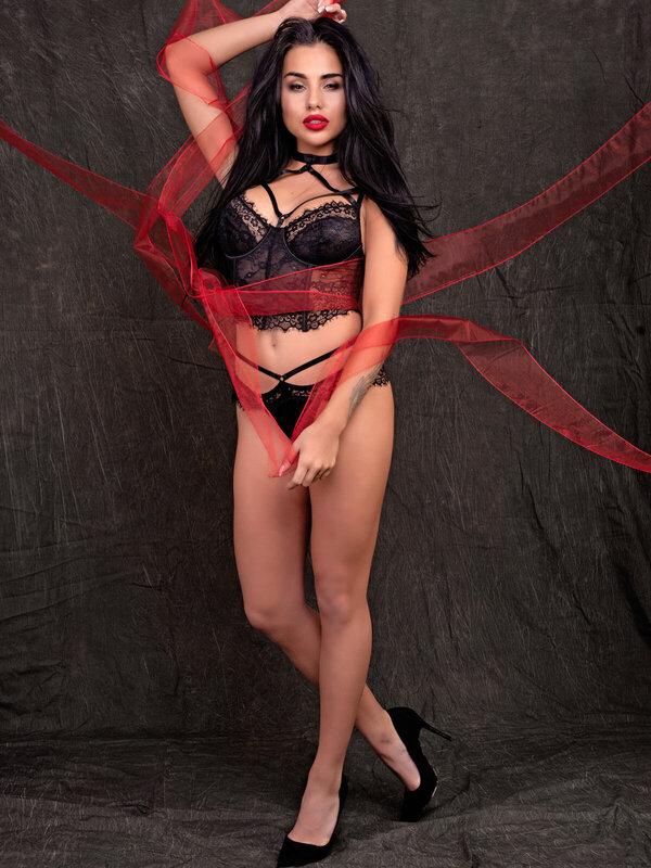 Set sexy LivCo Morandina black
