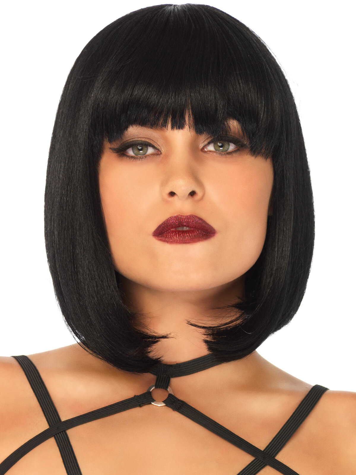 Peruca Short natural bob wig Negru