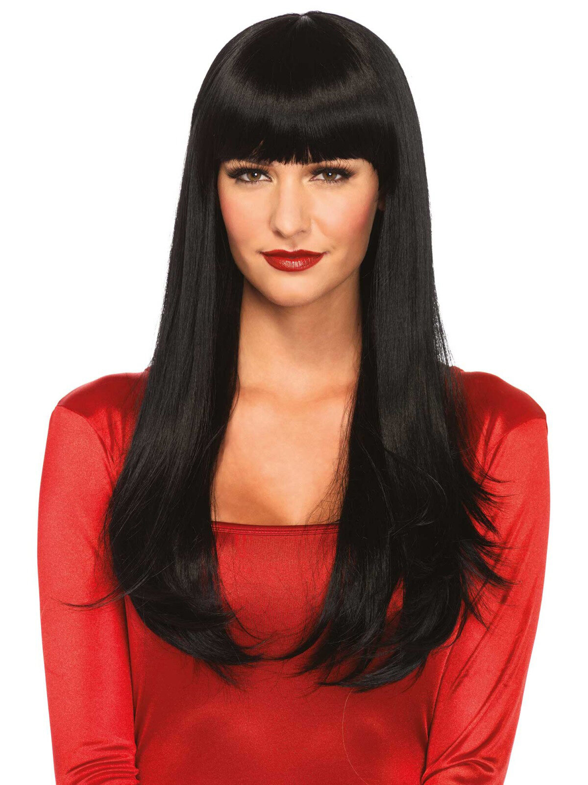 Peruca Bangin long straight wig Negru