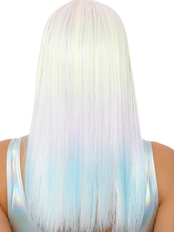 Peruca Leg Avenue Straight bang pastel ombre wig
