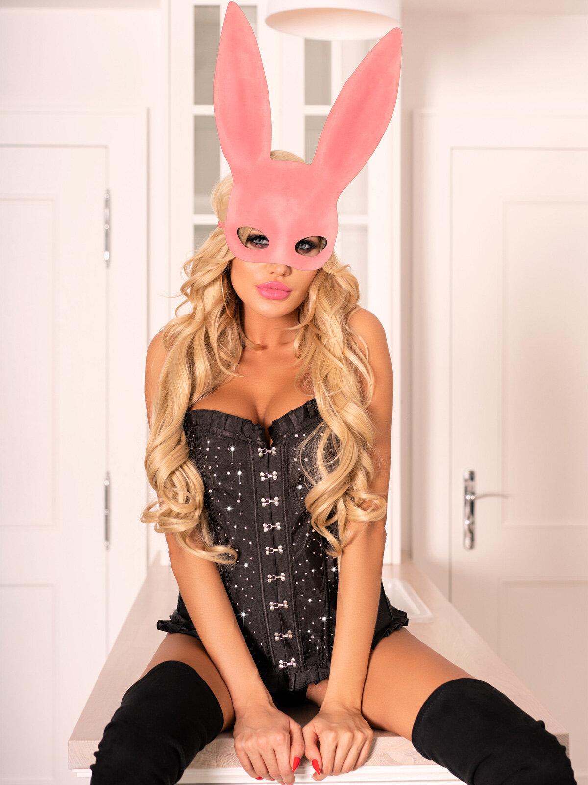 Kohu Rabbit Pink Roz MJ009