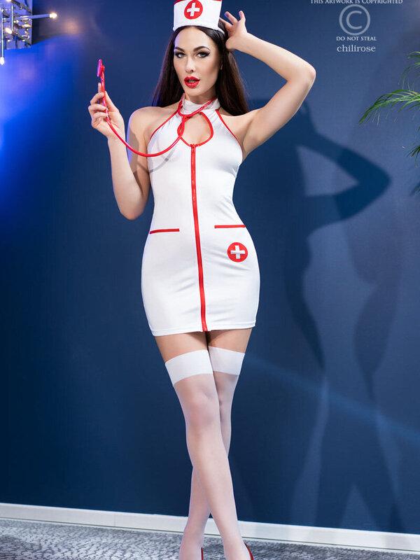 Costum Chilirose Nurse Costume set