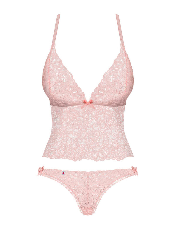Set sexy Obsessive Delicanta roz