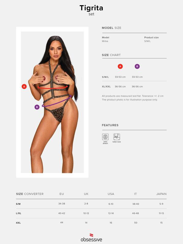 Set sexy Obsessive Tigrita 2-pcs set
